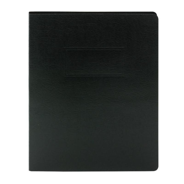 Smead PressGuard® Report Cover with Punchless Fastener, Letter Size, Black, 10 per Box (83050)