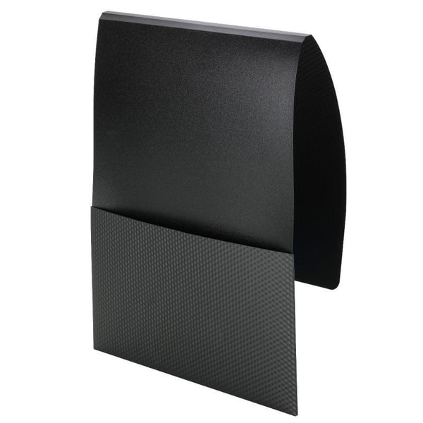 Smead Organized Up® Poly Stackit® Folders, Letter Size, Black, 5 per Pack (87805)
