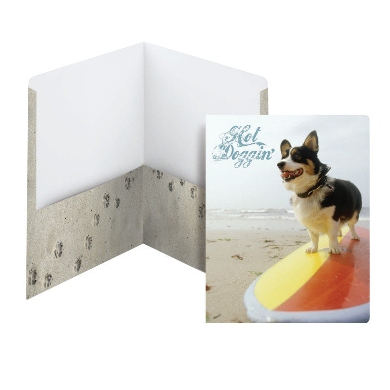 Carton of 50 Smead Raditude™ Collection Two-Pocket File Folder, Letter Size, Hot Doggin' (Surf) (87907)