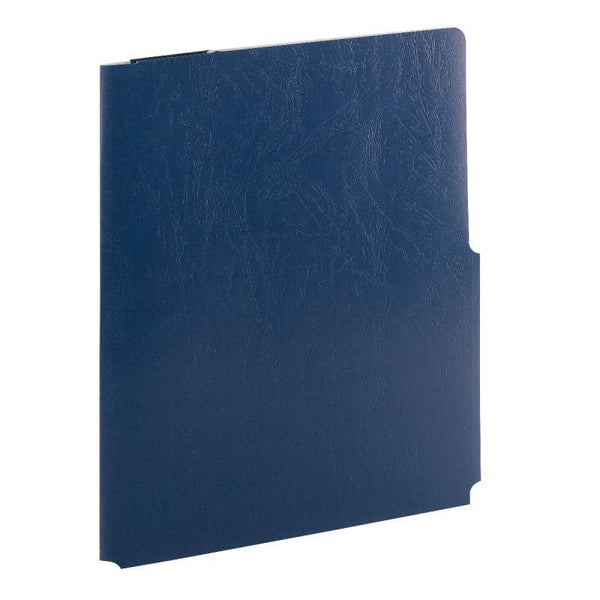 Smead Big Pocket Lockit® Two-Pocket File Folder, Letter Size, Monaco Blue, 5 per Pack (87927)