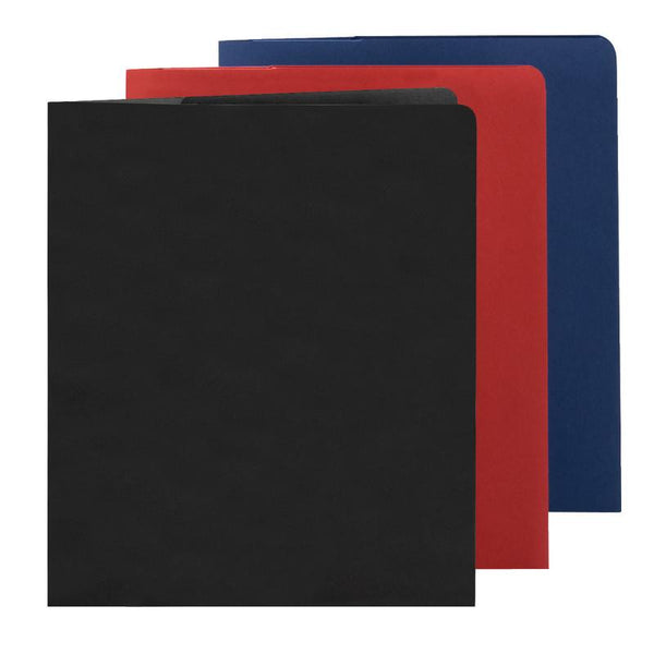 Smead Lockit® Two-Pocket File Folder, Letter Size, Assorted Colors, 6 per Pack (87979)
