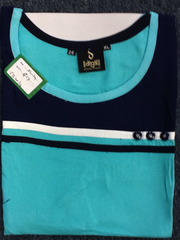 Tunic Short Green&Blue Size:XL 5B20/16