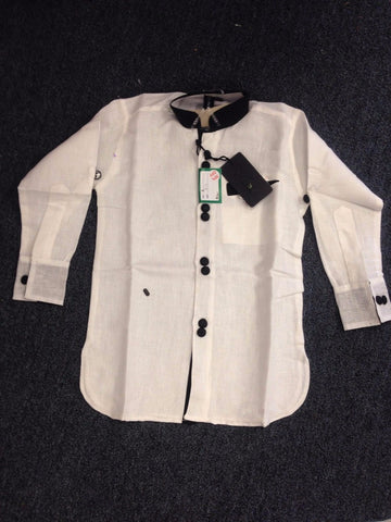 Boy's White Kurta