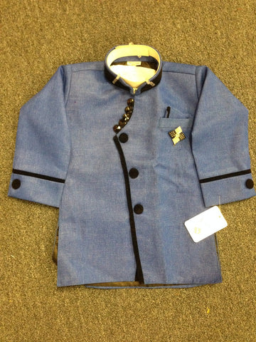Boy's Blue Sherwani