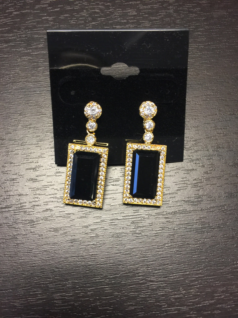 C.Z.Ear Rings VS-M38