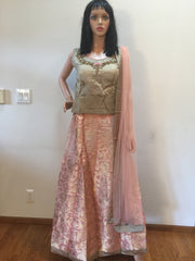 Crop Top Lehenga VS-RUCT