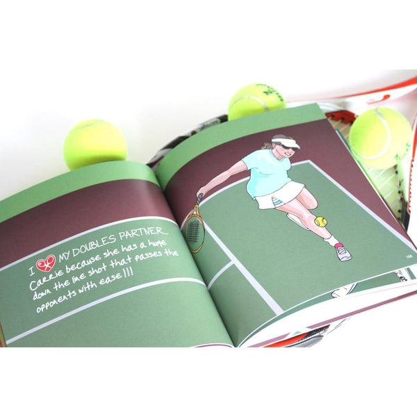 "Coffee Table Book ""I LOVE MY DOUBLES PARTNER!!!"" - I LOVE MY DOUBLES PARTNER!!!"