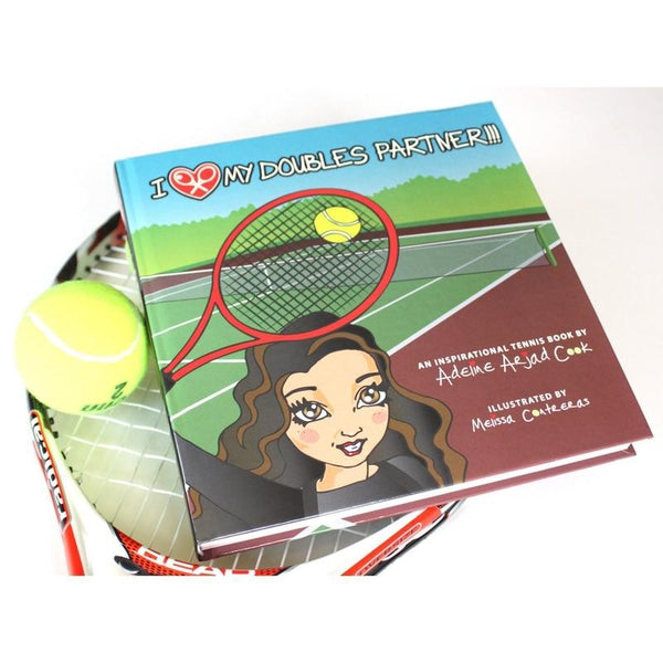 "Coffee Table Book ""I LOVE MY DOUBLES PARTNER!!!"""