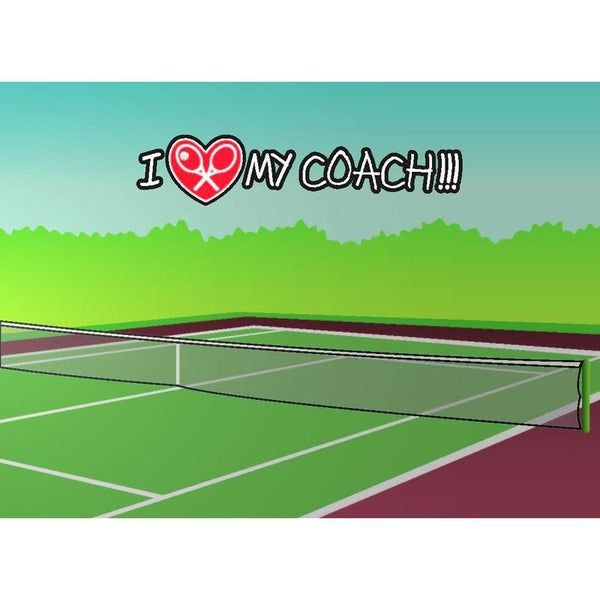 Tennis LOVE Greeting Cards