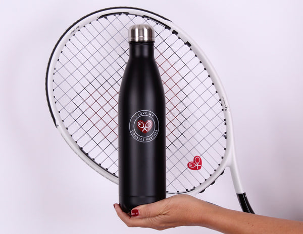 Hot + Cold Drink Bottle Holder - I LOVE MY DOUBLES PARTNER!!!