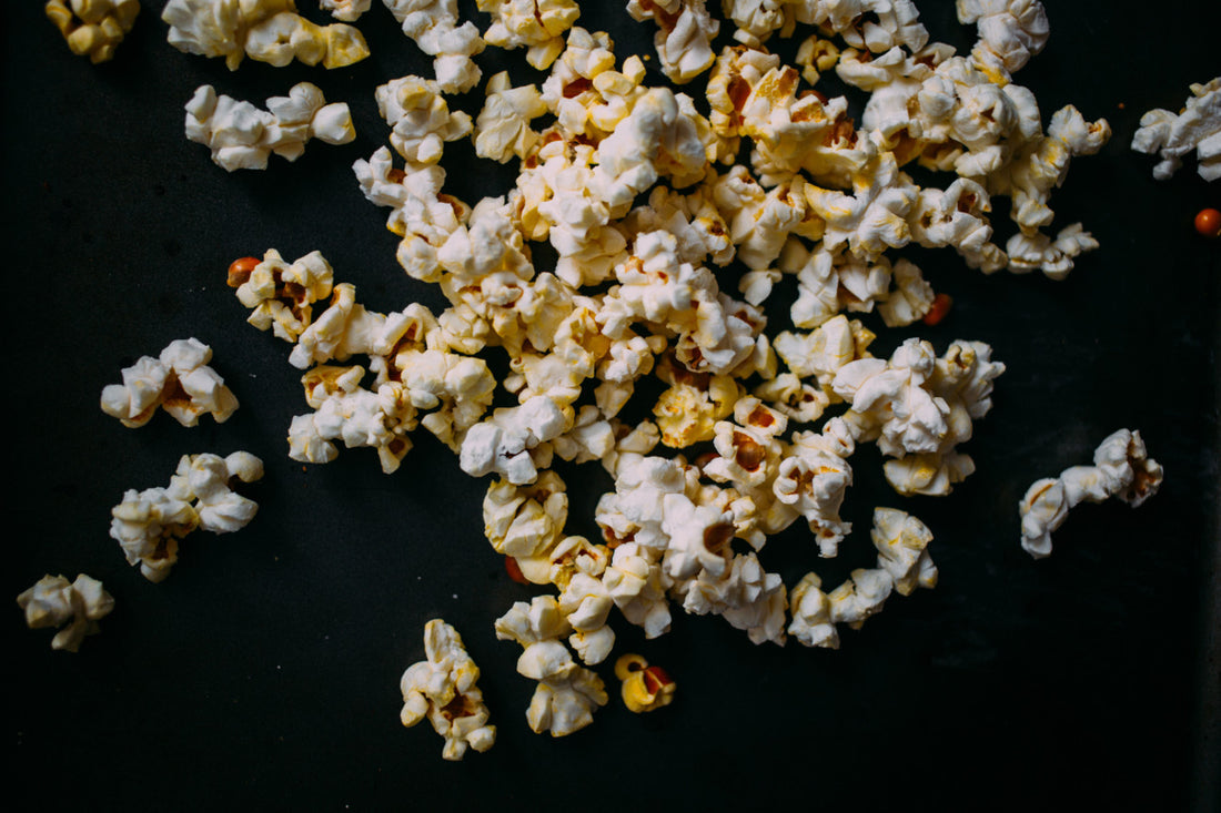 Stovetop popcorn with Vechur Ghee