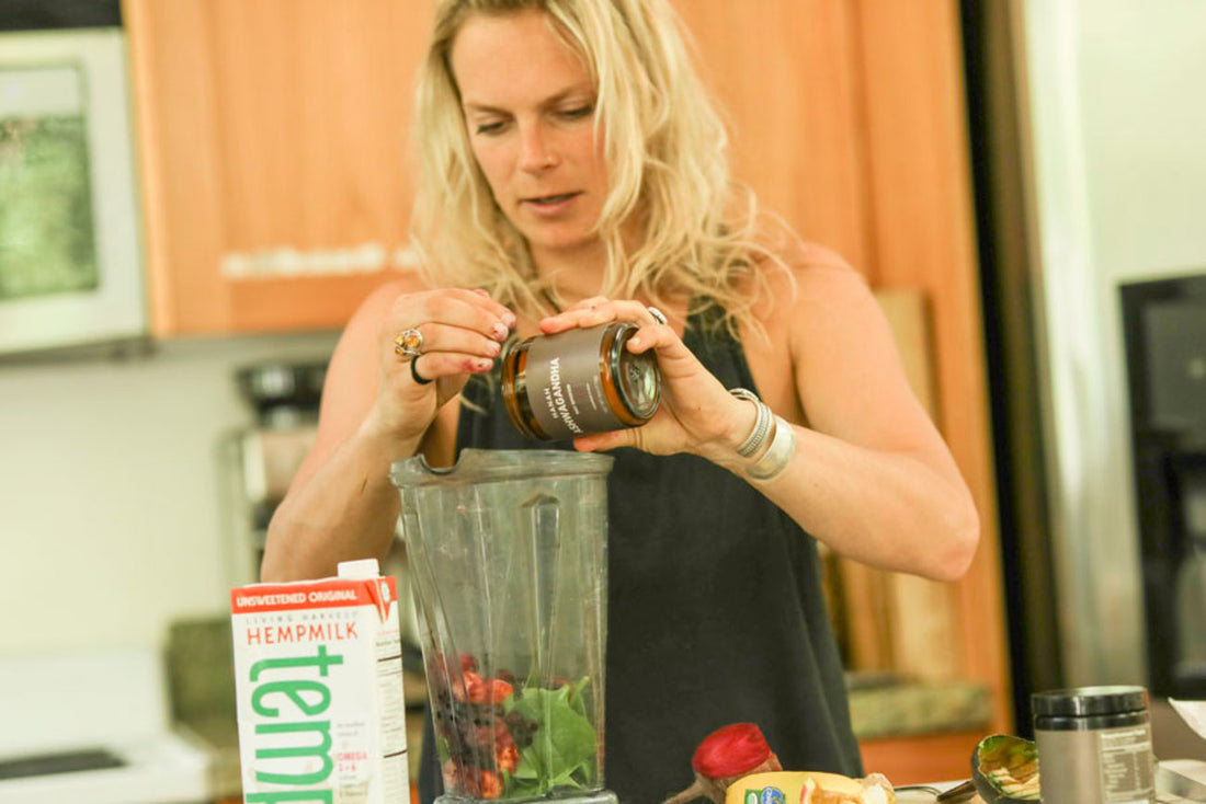 HANAH Hero Angel Collinson's Fall Smoothie Recipe