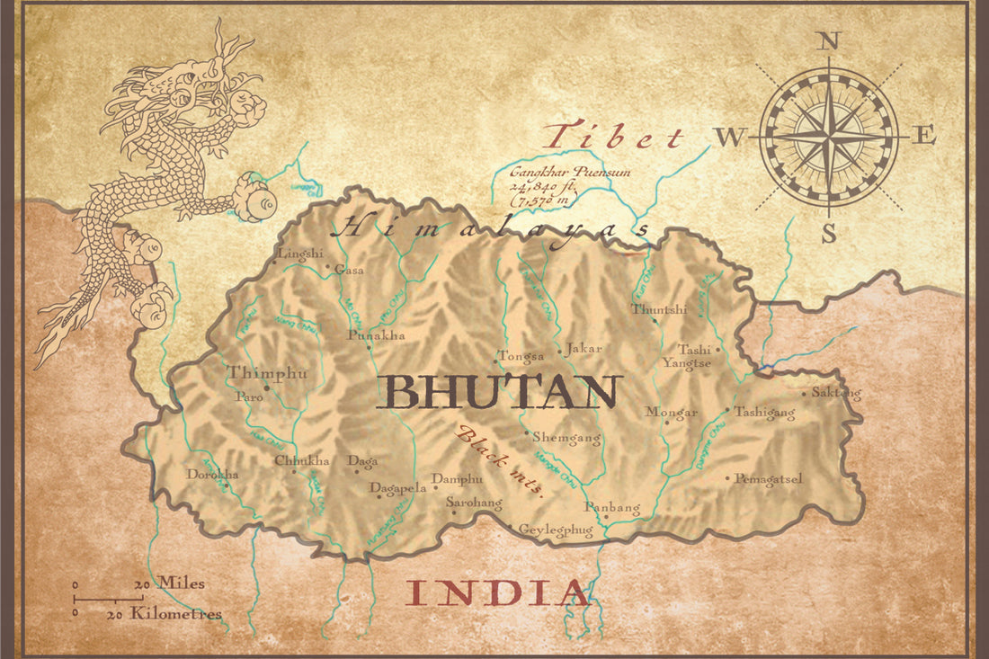HANAH + Bhutan, the land of herbal medicine