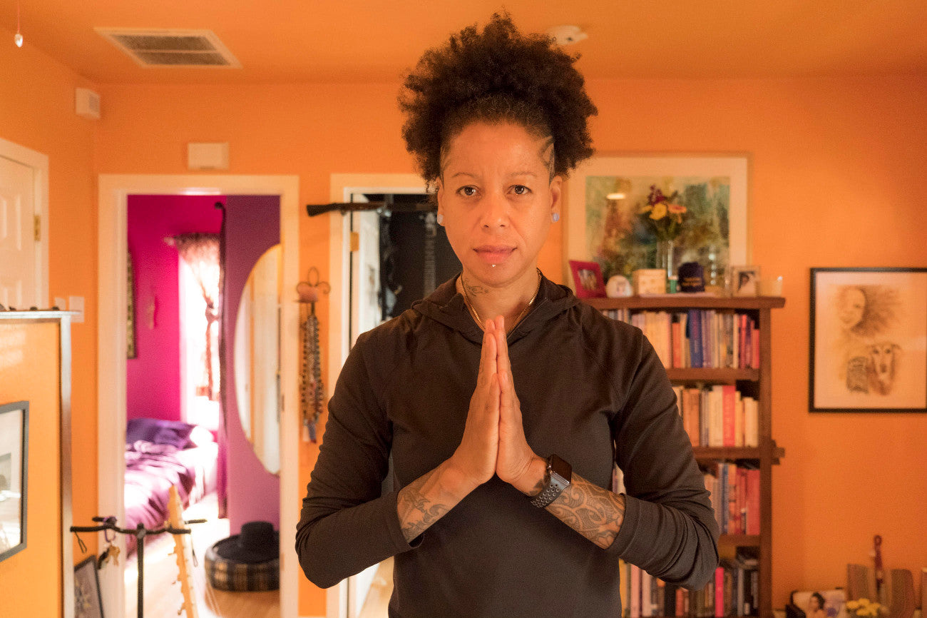 Renowned yoga teacher and rock guitarist Bibi McGill shows us the art of balance