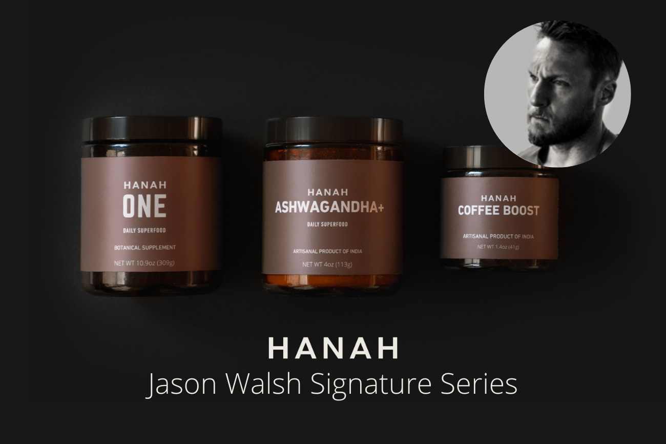 Introducing HANAH Hero and professional trainer Jason Walsh's Signature Series bundle