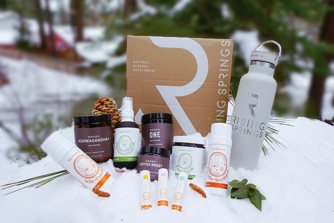 CLOSED: HANAH New Year wellness giveaway