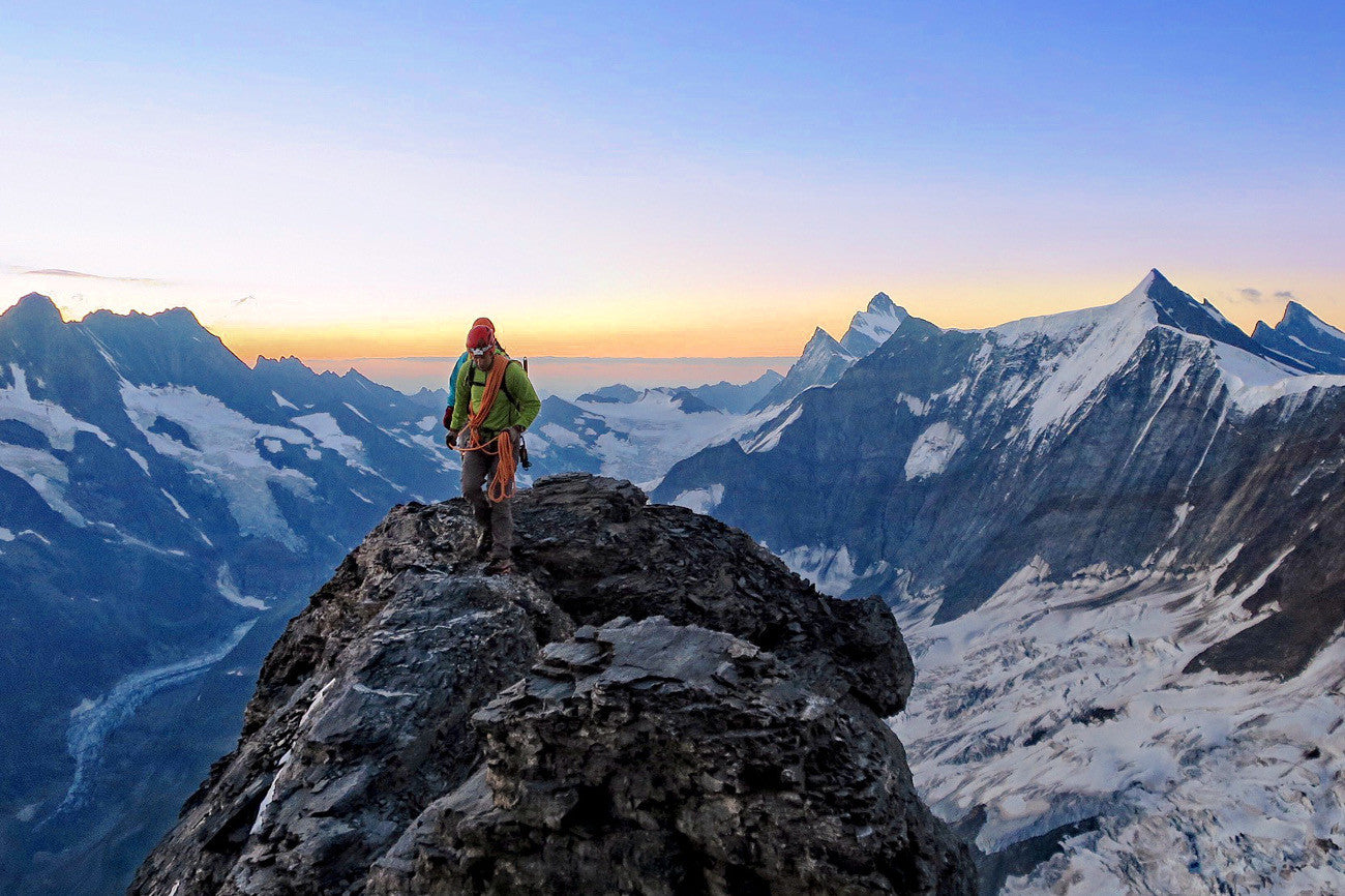 Put to the test: HANAH ONE + a professional mountain guide