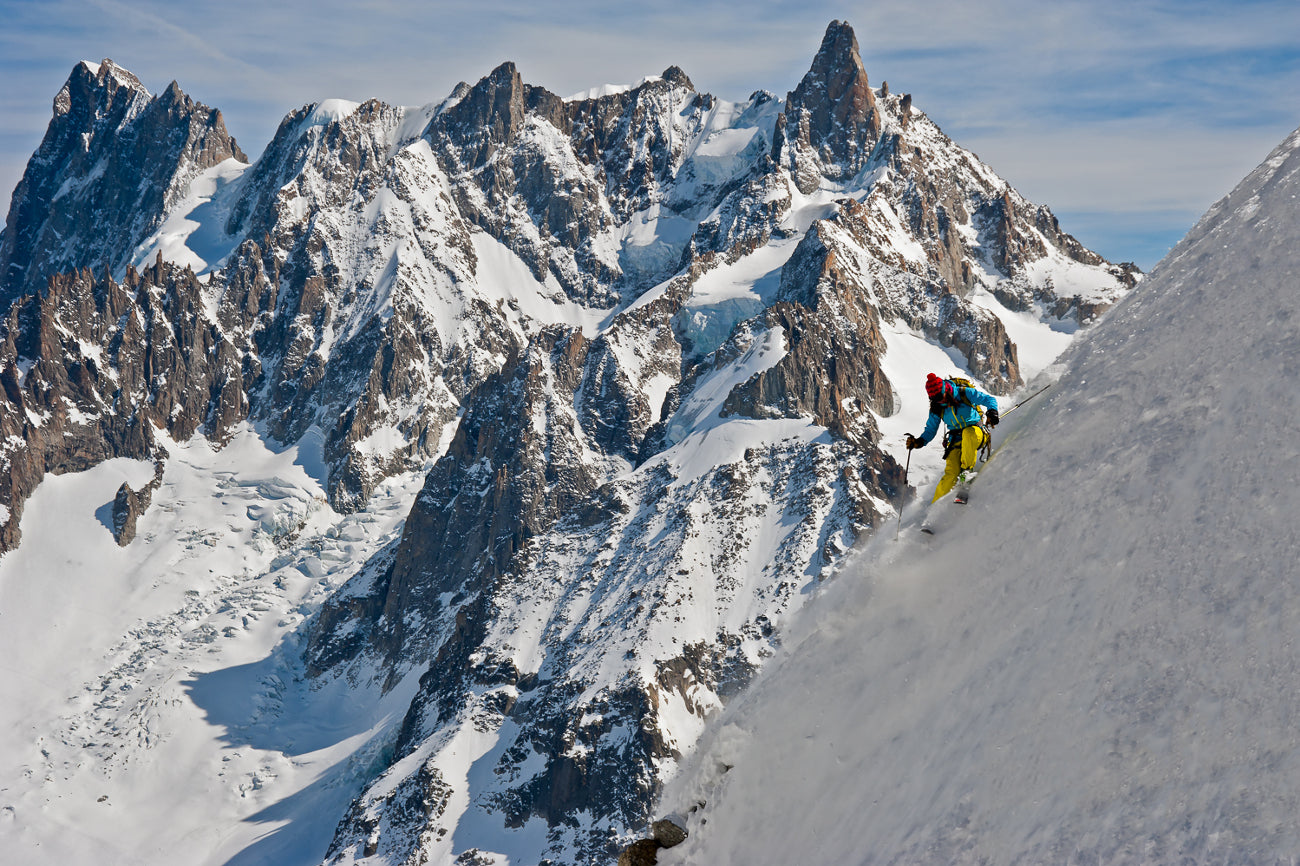 CLOSED! HANAH Giveaway: Win a framed photo of Kit DesLauriers in Chamonix and a HANAH Prize Pack