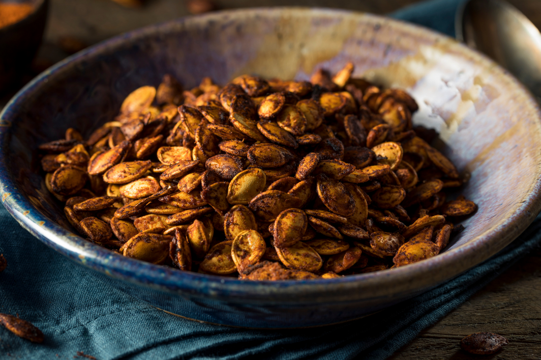 Elevate your pumpkin seeds with HANAH ONE this Halloween