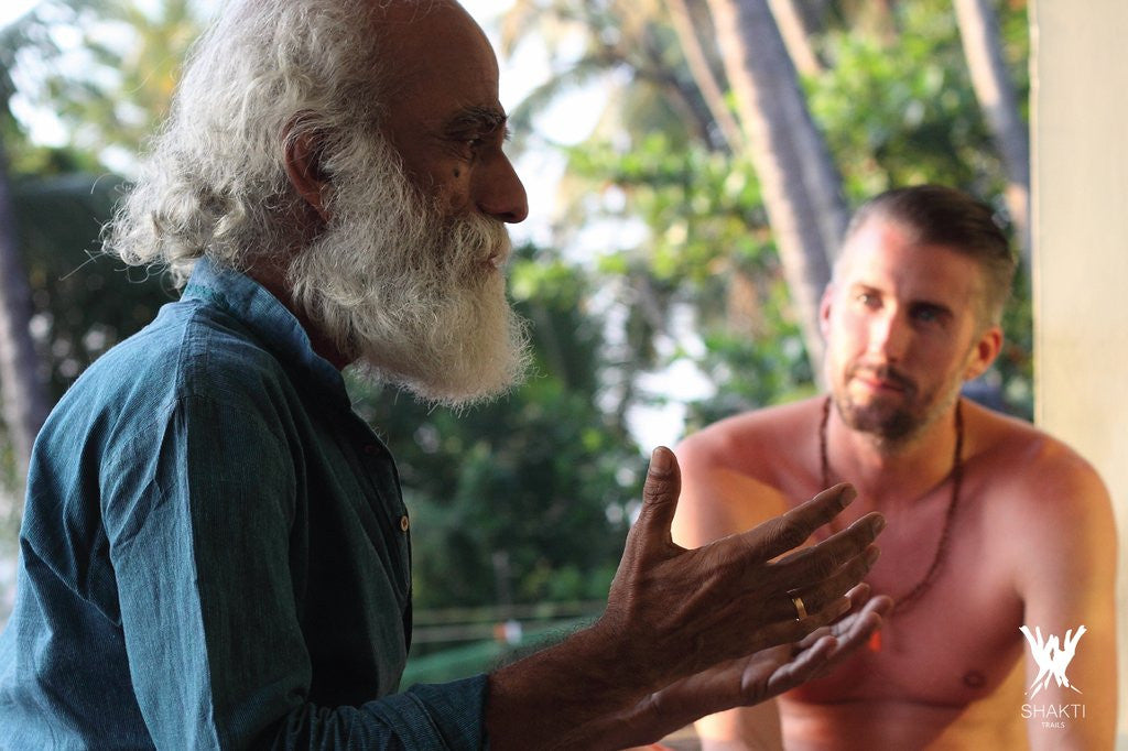 What happens after 16 days deep in an Indian Ayurvedic center