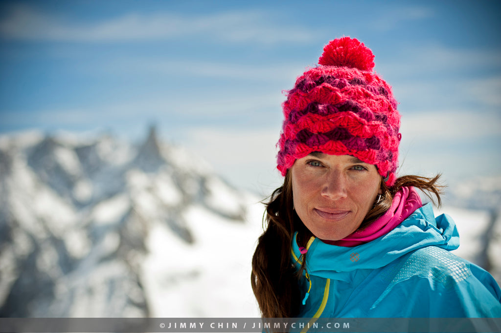 HANAH announces giveaway with HANAH Hero Kit DesLauriers / photo credit Jimmy Chin