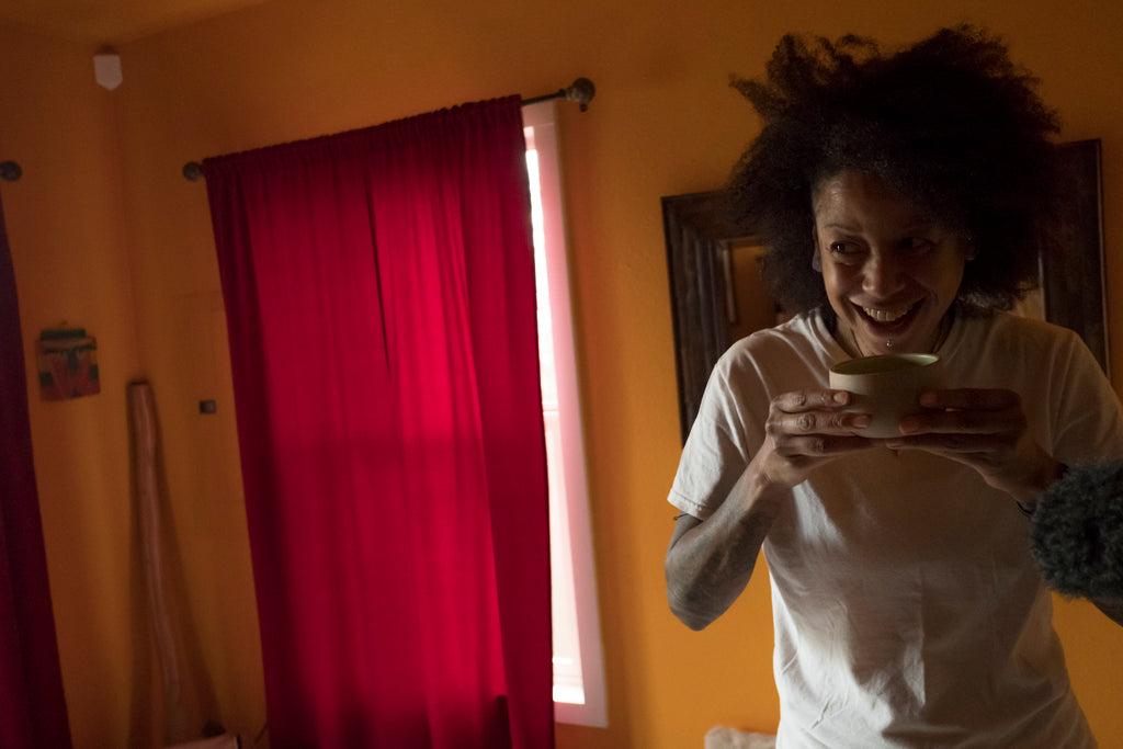 HANAH Hero, legendary guitarist and yogi Bibi McGill shares her morning Matcha Tea.
