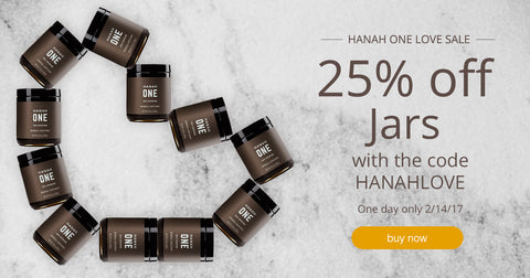 HANAH ONE Jar Valentines Offer