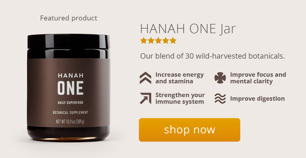 Featured HANAH ONE product page