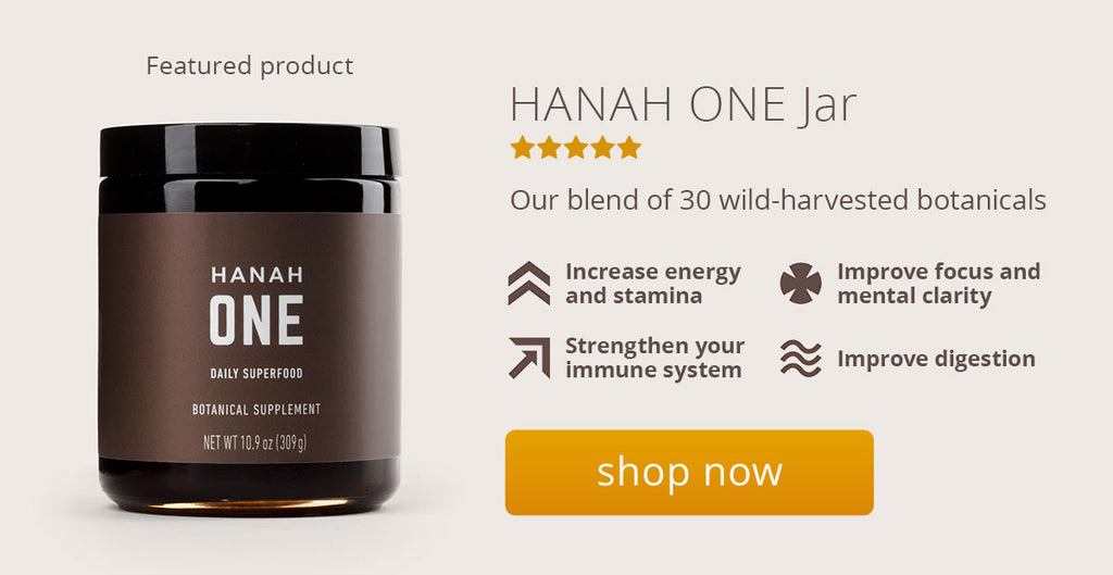 HANAH ONE jar product page