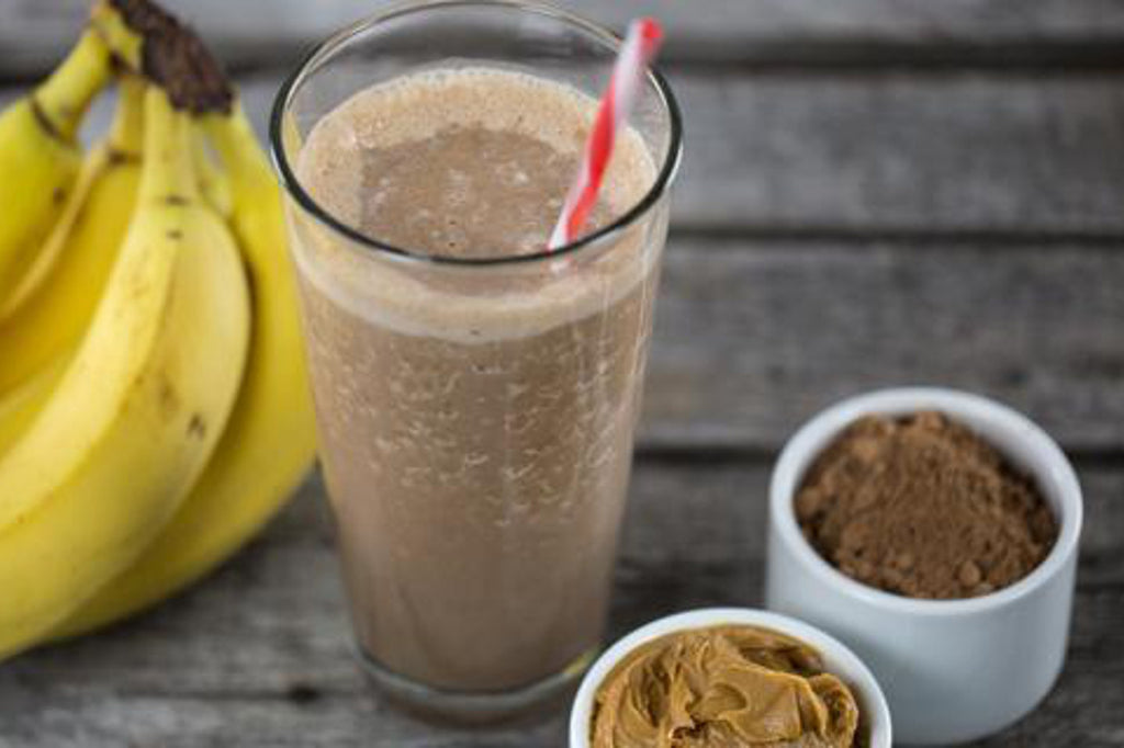 HANAH Cacao Smoothie with Bananas and Coffee Boost