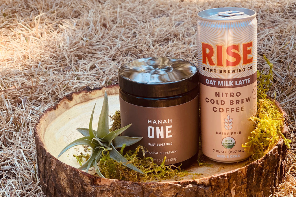 HANAH ONE and Rise Brewing collaboration