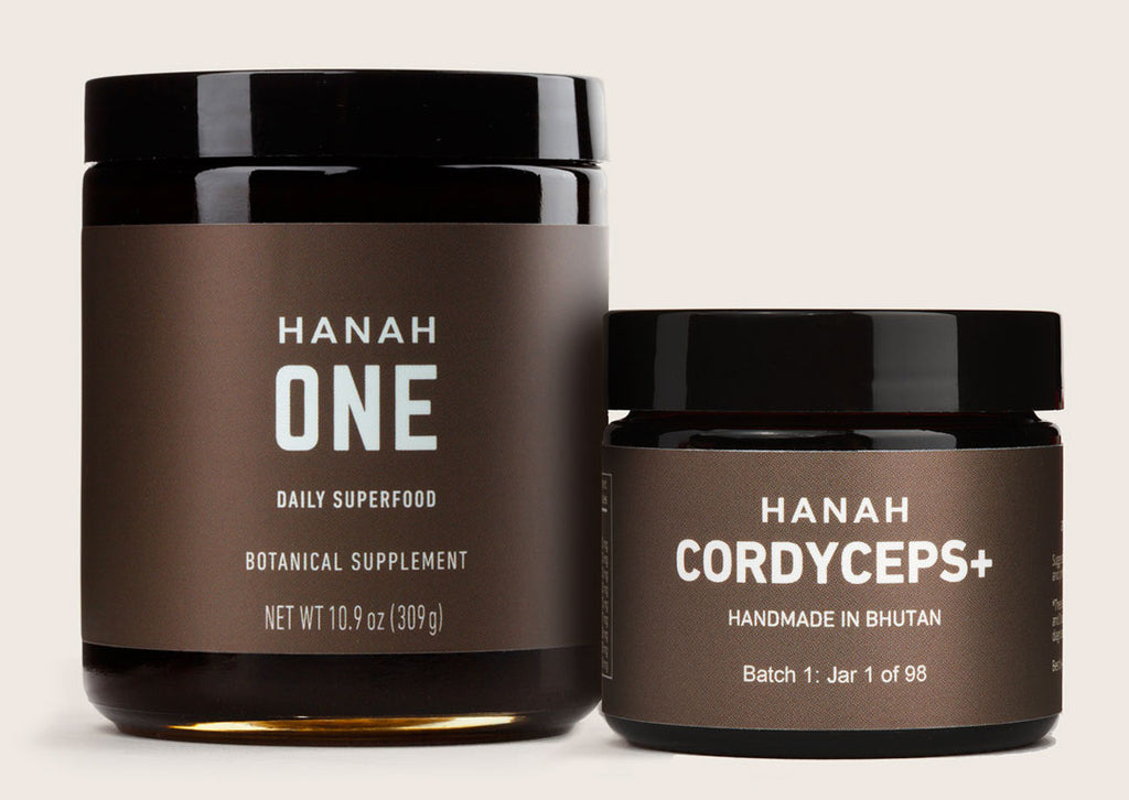 HANAH ONE & Cordyceps+ product page