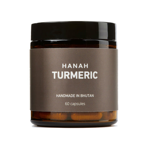 HANAH Turmeric+, our latest product from the mineral rich soils of Bhutan