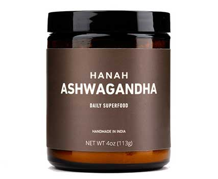 HANAH Ashwagandha+, the highest quality herb on the market, soaked in milk for maximum absorption