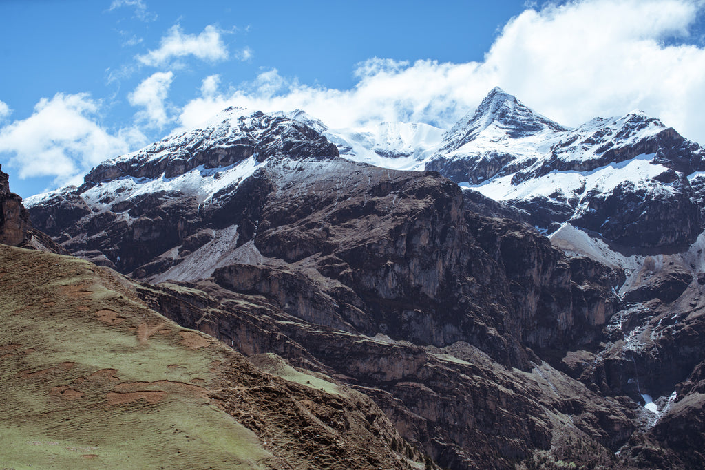 Himalayan mountains where the Shilajit is found