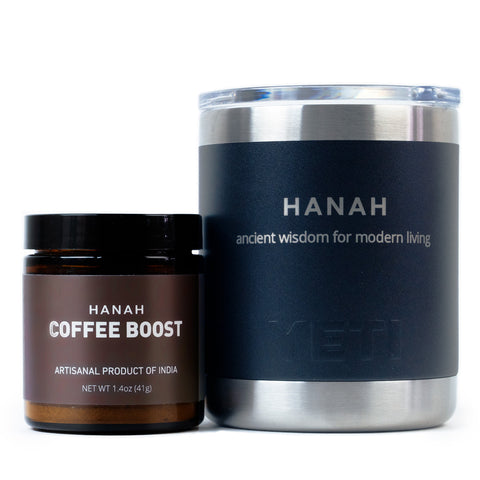 HANAH Coffee Boost & Yeti Mug