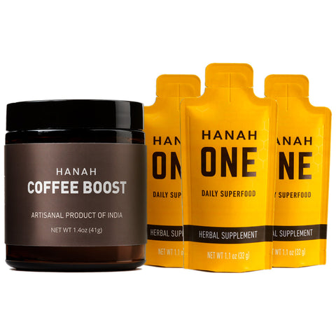 HANAH ONE Go-Packs & Coffee Boost