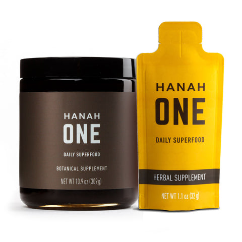 On-the-Go - HANAH ONE Jar & Go-Pack