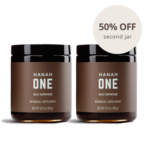 HANAH ONE jar: Buy One Get One 50%