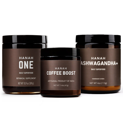 Winter Bundle – HANAH ONE, Coffee Boost & Ashwagandha+