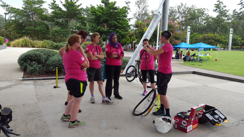 Women on Wheels - Cycling - Group 2