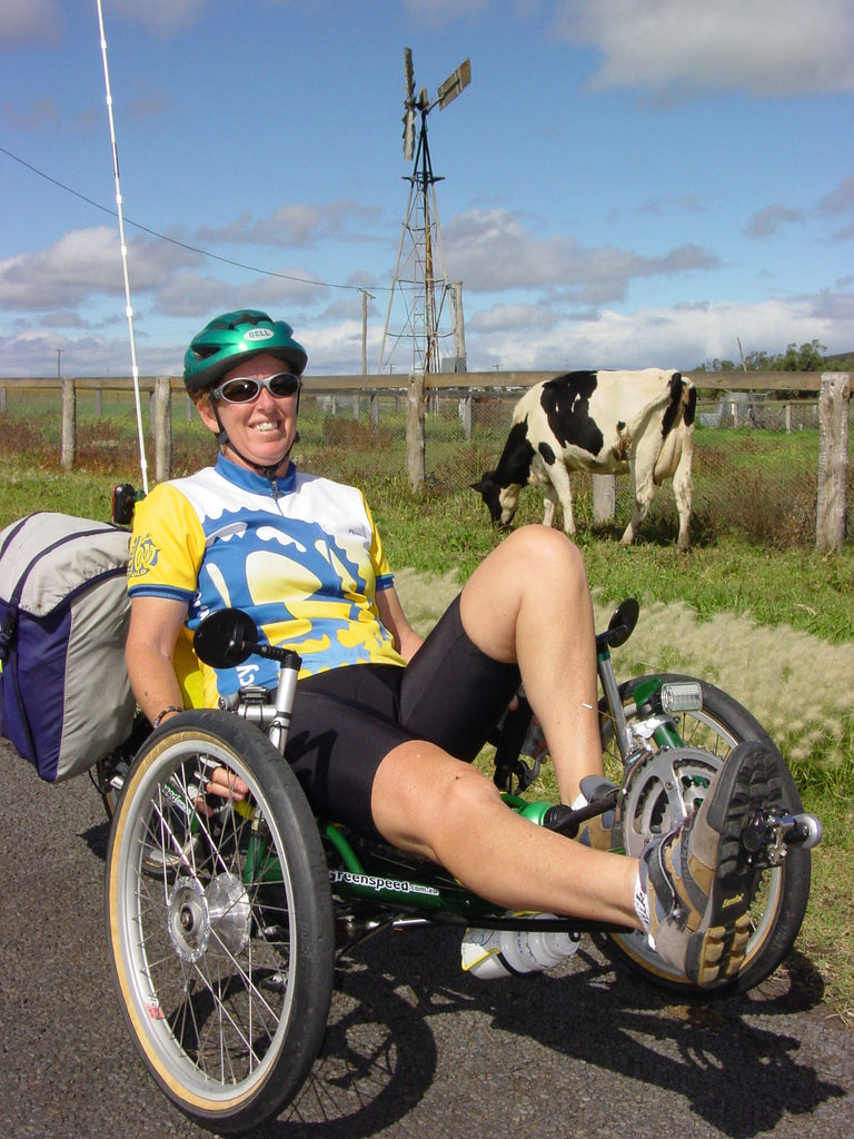 Three things I love about riding my recumbent