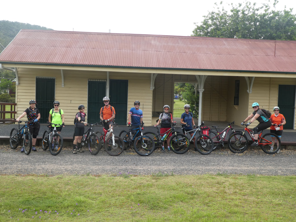 Brisbane Valley Rail Trail ride 6 March to 8 March 2020