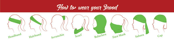 How to wear your cycling snood