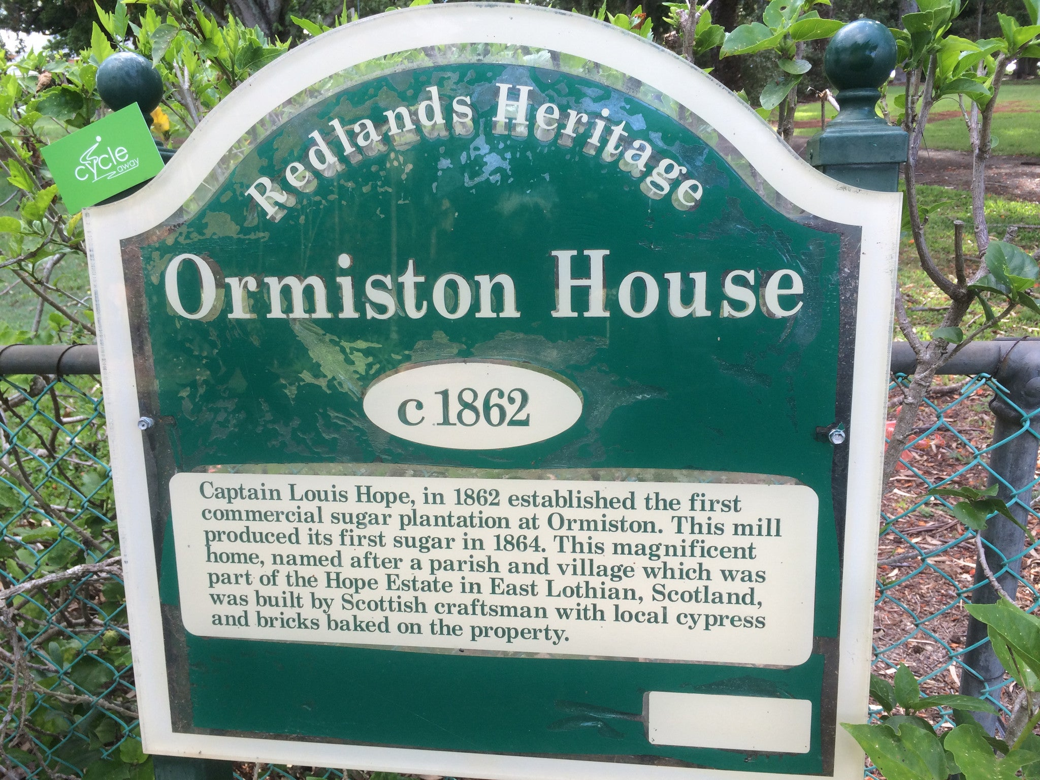 Ormiston House