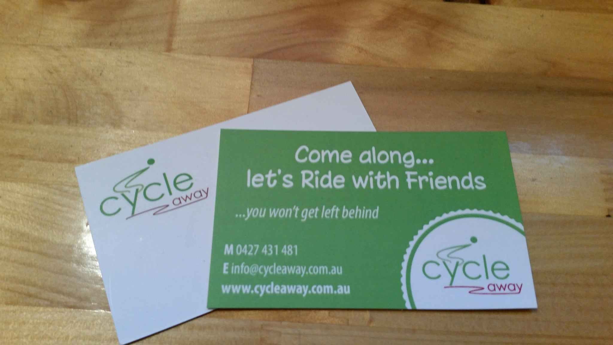 Ride With Friends Card