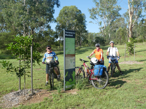 Brisbane Valley Rail Trail (Yarraman to Wulkuraka)  -  7th to 10th September