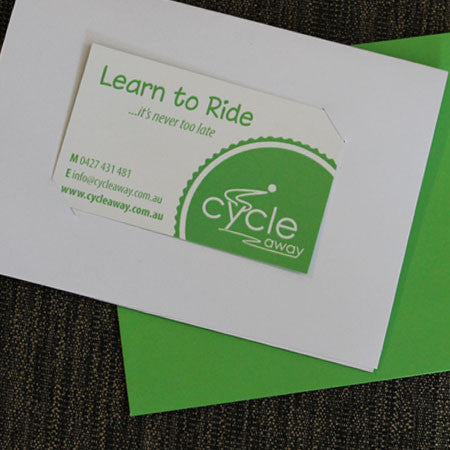 Learn to Ride Card