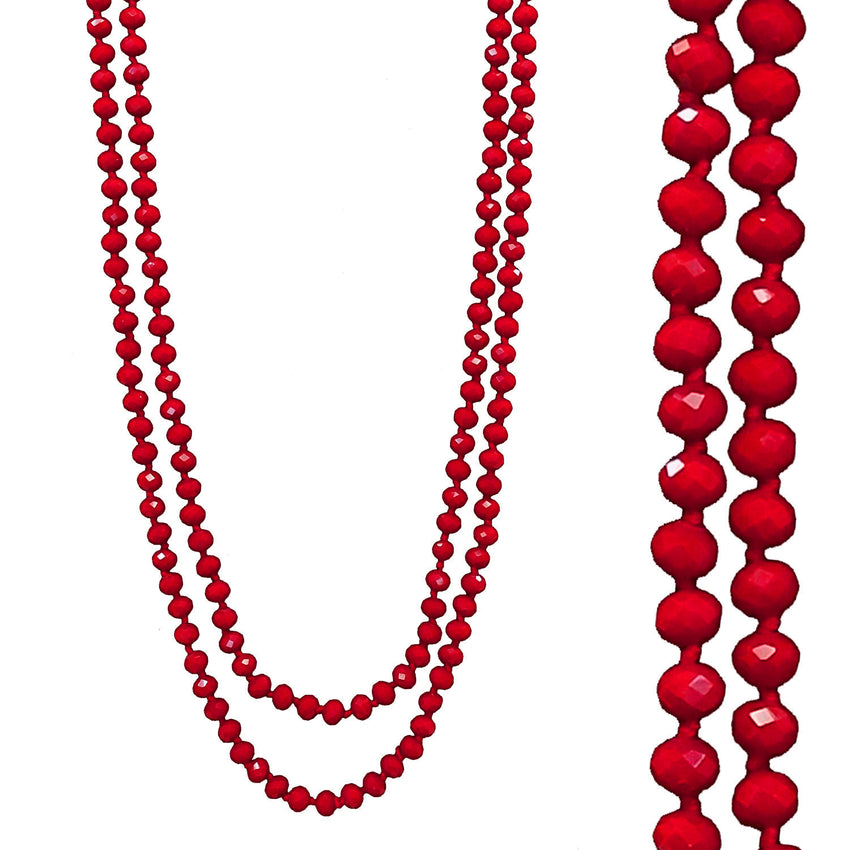 Red Crystal Necklace