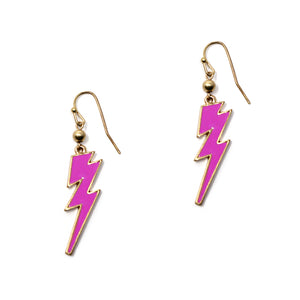 Lightning Metal Earrings